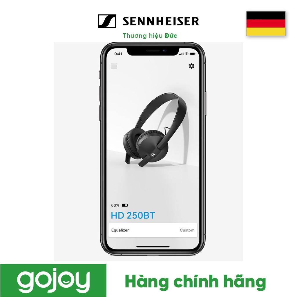 Tai nghe ON EAR Bluetooth 5.0 AAC Pin 25h SENHEISER HD250 BT -Bảo hành 24 tháng chính hãng