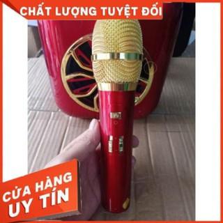 Tặng kèm mic Loa hát karaoke A20.