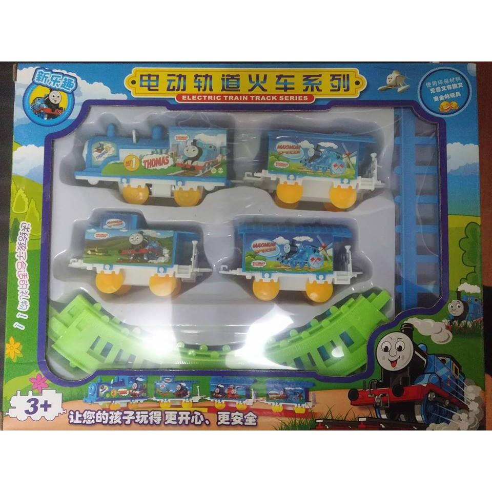 Bộ đồ chơi lắp ráp đường ray tàu hỏa hấp dẫn cho bé