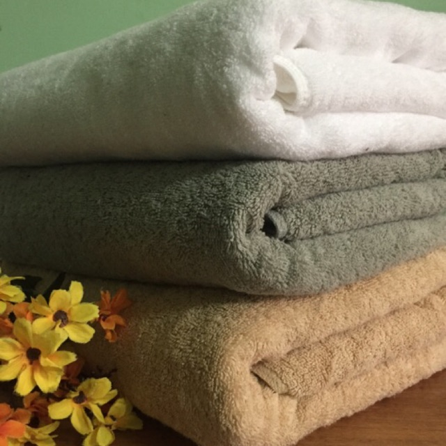Thanh lý nhanh khăn tắm to đẹp xuất Nhật loại dầy chỉ từ 69k