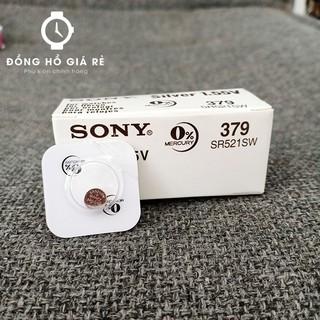 [HOT] Pin đồng hồ SR521SW - pin 379 Sony (vỉ 1 viên) thumbnail