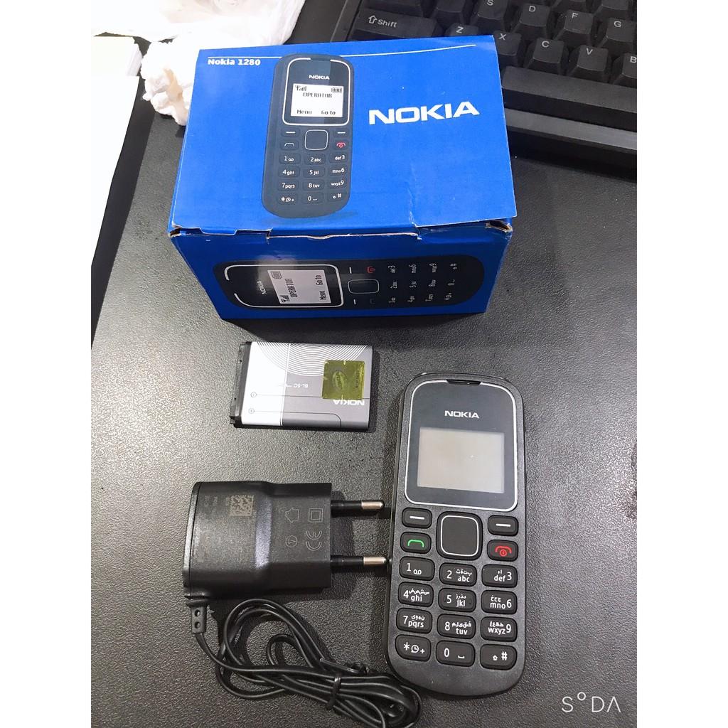 [GIÁ RẺ NHẤT] Điện thoại Nokia 1280 chính hãng -nghe gọi to rõ, bắt sóng sim cực mạnh- siêu trâu mua một lần sài đến già
