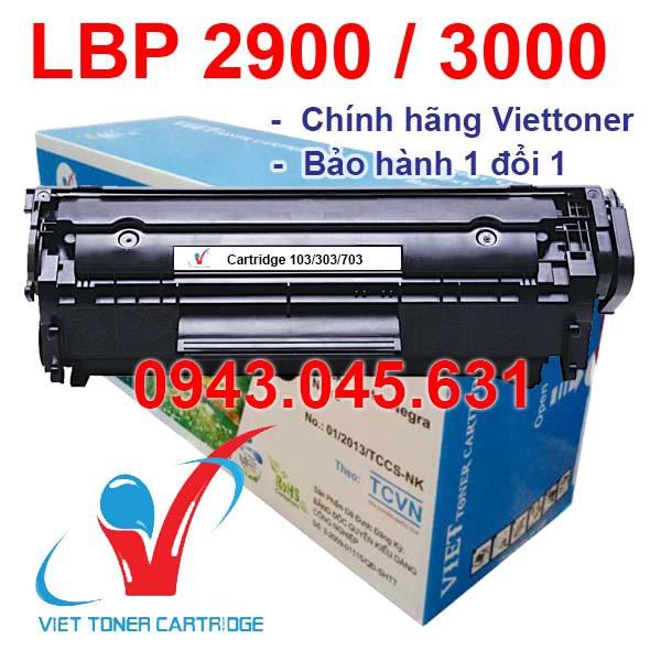 Hộp mực dùng cho máy in Canon LBP 2900 – Cartridge 103/303/703 - 12A mới 100% [Full Box]