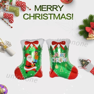 cozy* Christmas Stockings Aluminum Foil Balloons Anniversary Xmas Party Supplies Dec