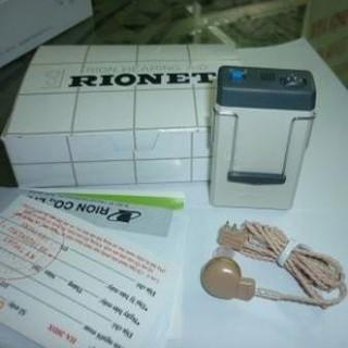 Máy trợ thính rionet có dây nhật bản HA-20DX thumbnail