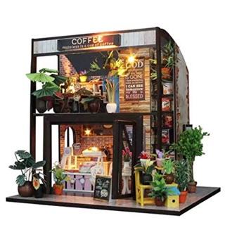 Mô hình nhà gỗ – Coffee shop