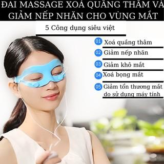 Máy massage mắt X20-đẩy tinh chất ION ÂM XÓA QUẦNG THÂM VÀ BỌNG MẮT -máy massage mặt-mặt nạ mắt-dưỡng da mắt thumbnail