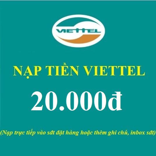 Mã thẻ cào 20k Viettel