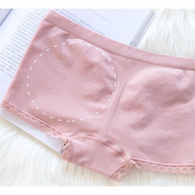 [GIÁ HỦY DIỆT] Quần lót nữ mặc trong váy chất cotton mềm mịn QU02