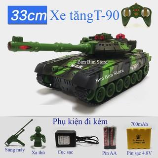 Xe Tăng Điều Khiển Từ Xa T-90 size 33cm