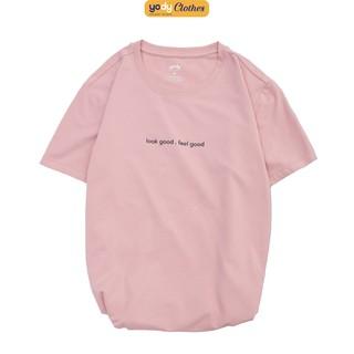 Hình ảnh [Mã WABRAPR20 giảm 15% đơn 149k] Áo phông nữ YODY cổ tròn form rộng vải cotton thoáng mát PPN4134-0