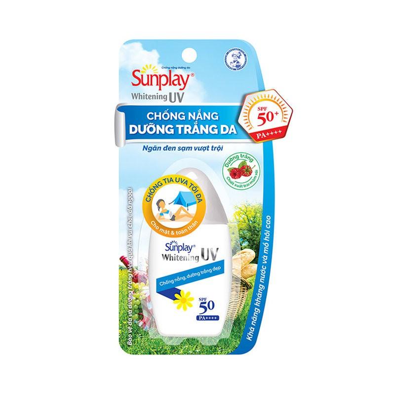 Sữa Chống Nắng Dưỡng Trắng Da Sunplay Whitening UV SPF50/PA++++ 30g