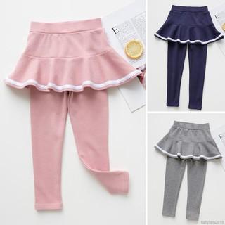 Quần váy legging vải cotton đáng yêu cho bé gái từ 2-8 tuổi