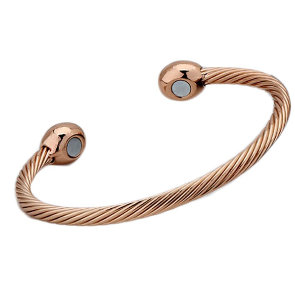 Health Care Magnetic Therapy Open Cuff Bracelet Arthritis Men Women Fashion Jewelry Bracelet Charm