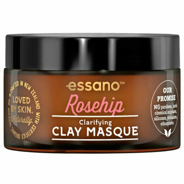 Mặt nạ đất sét hoa anh thảo Essano Rosehip Clay Masque 100g