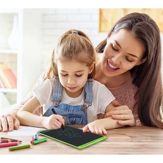 Bảng Viết, Bảng Vẽ Điện Tử Màn Hình LCD Đa Sắc 8.5 Inch Tự Xóa Thông Minh Model 2019  Tặng Kèm Bút Cảm Ứng