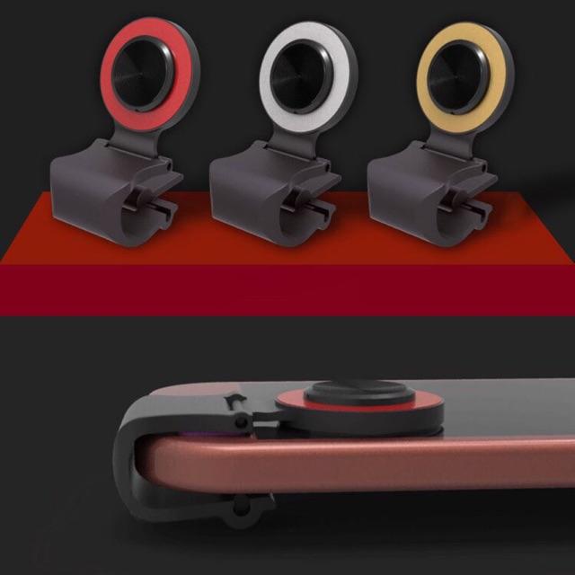 Nút Bấm Chơi Game Pubg Mobile Joystick A9 Chơi Liên Quân Mobile - Màu đỏ - vàng.