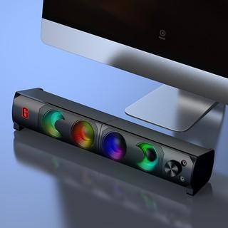 Loa Thanh SOUNDBAR ROBOT RS300 Kiểu Dáng Gaming - Hiệu ứng LED RGB - Công suất lớn 6W - BẢO HÀNH 12 THÁNG thumbnail