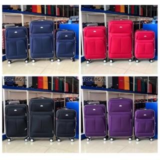 Vali vải size 20 size 24 chính hãng Hùng Phát có khoá mật mã, vali kéo du lịch có bảo hành thumbnail
