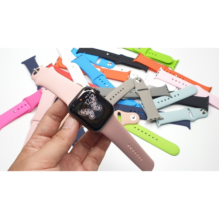Dây đồng hồ cao su đủ size 38/40mm + 42/44mm SIÊU HOT