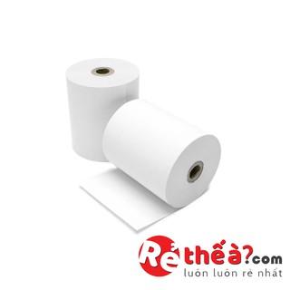 1 Cuộn Giấy In Nhiệt Hóa Đơn Máy K58 hoặc K80 – ( 6.5k hoặc 7.5k/cuộn)