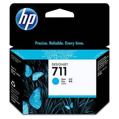 [Mã 267ELSALE hoàn 7% đơn 300K] Mực in HP 711 29-ml Cyan Ink Cartridge (CZ130A)