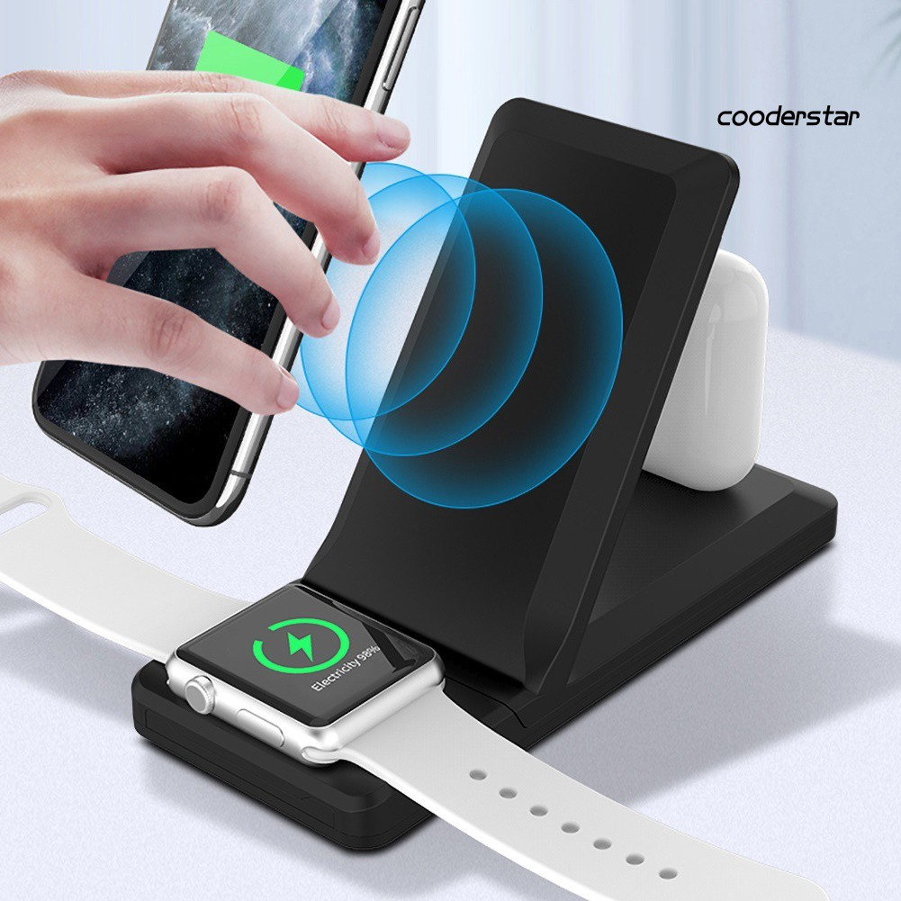 ★COOD★15W Folding Qi Wireless Quick Charger for iPhone for Apple Watch for AirPods Pro
