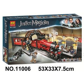 Đồ chơi lắp ráp Lego Harry Movie Potter Tàu tốc hành Hogwarts Express Train – ngã tư Vua Bela 11006.