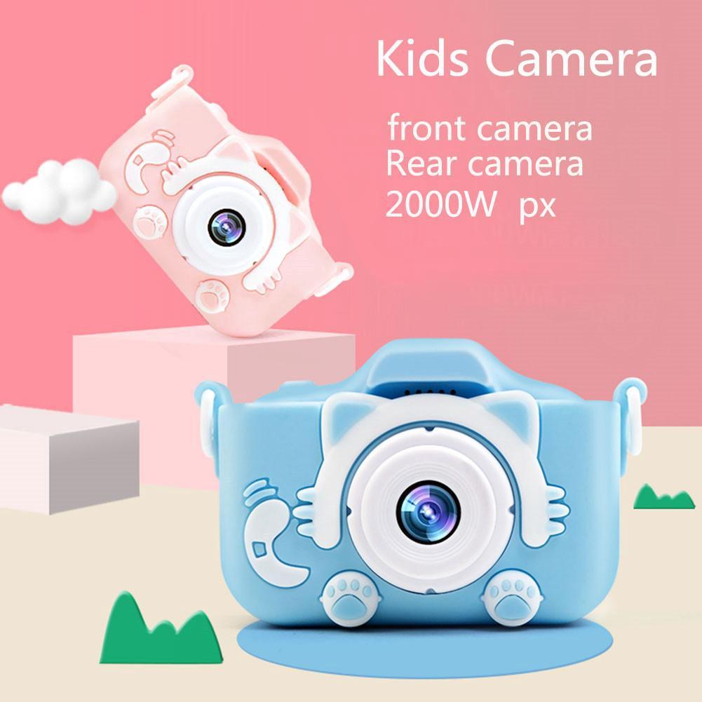 Máy ảnh trẻ em màn hình 2.0 inch Máy ảnh mini kỹ thuật số với 600 mAh Pin lithium Đồ chơi Quà tặng