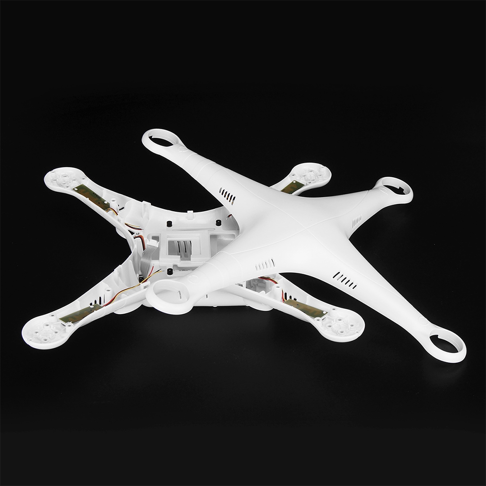 Repairing DIY Easy Install Replacement Upper Bottom With Screws Parts Drone Body Shell For DJI Phantom 3 Advanced