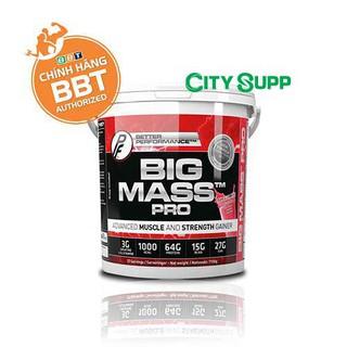 Big Mass Pro – Tăng Cân và Cơ Siêu Nạc từ Nauy – Thùng 7.1kg – 27 liều dùng – Liều 6 muỗng – Hàng chính hãng BBT