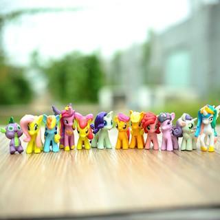 DreamForest Figure Toy Action Pony 12pcs Magic Friendship Set Kid
