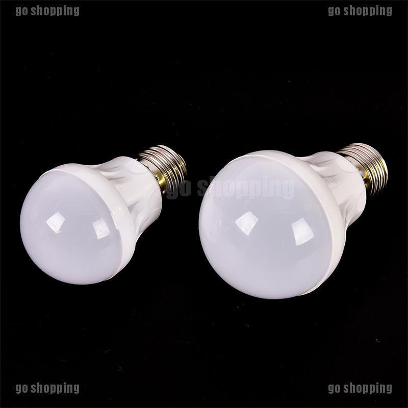 {go shopping}E27 Energy Saving LED 3W 5W 7W 9W Bulbs Light Lamp AC 220V DC 12V Home