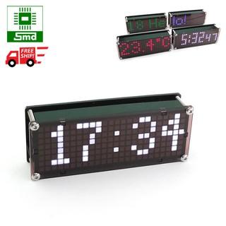 Đồng hồ Led để bàn Matrix Mini V2 màu trắng