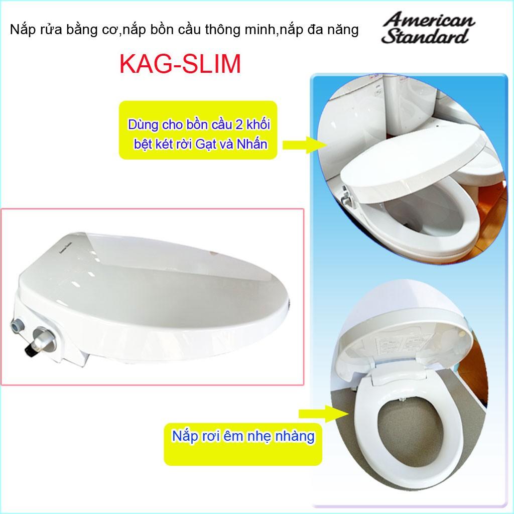 Nắp rửa bồn cầu thông minh American  Slim Smart Washer KAG-Slim00001WT