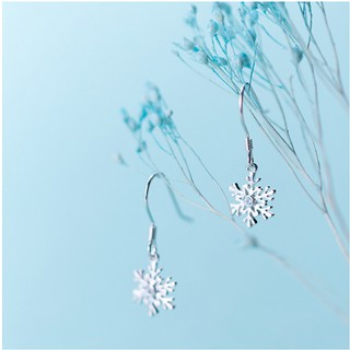 Hình ảnh [Mã FABR33 giảm 15% tối đa 50K đơn từ 150K] Bông tai bông tuyết xinh xắn cho nữ B2620 - Bảo Ngọc Jewelry-1