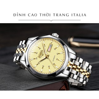 Đồng hồ Nam ROMA ITALY 9010 Kính tráng Sapphire – Dây CHARM đúc đặt đẳng cấp