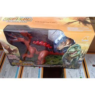 Hộp khủng long điều khiển có nhạc đèn