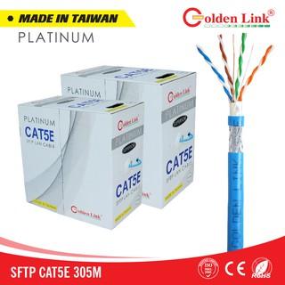 [Mã ELMSBC giảm 8% đơn 300K] CÁP MẠNG GOLDEN LINK PLATINUM SFTP CAT 5E MADE IN TAIWAN