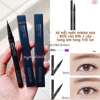 KẺ MẮT NƯỚC Missha Matt Effect Pen Liner