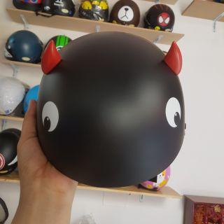 Sừng gắn mũ bảo hiểm cute [1 c