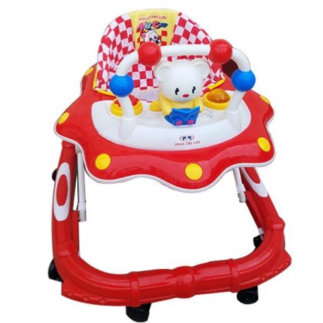 SHOPEE TRO GIA ---Xe tròn TẬP ĐI mèo đỏ HÀNG VIỆT NAM ( mỗi đơn đi được1 chiếc)