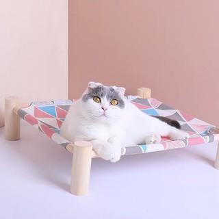 [ RẺ VÔ ĐỊCH ] Giường ngủ gỗ cao cấp dành cho thú cưng thumbnail