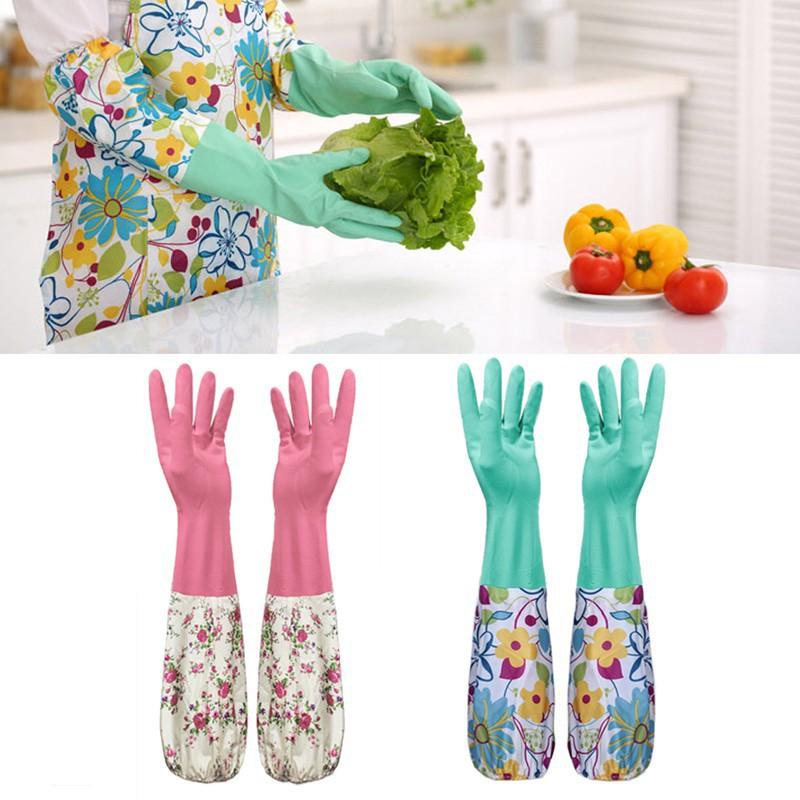 Đôi găng tay chống nước rửa chén