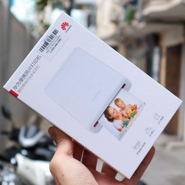 Máy in ảnh bluetooth mini Huawei - Công nghệ in nhiệt không cần mực - Ảnh in sọc