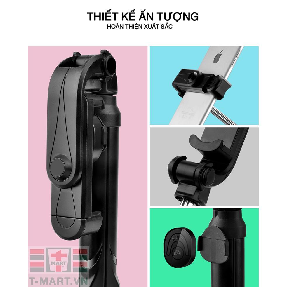 [Mã ELORDER5 giảm 10K đơn 20K] Gậy tự sướng kiêm Tripod 3 chân đa năng nhỏ gọn kèm Remod Bluetooth tiện lợi-TX10