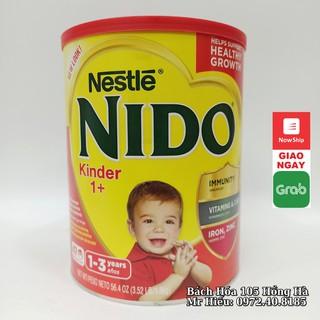 [T7 2021] Sữa Nido nắp đỏ 1,6 kg thumbnail