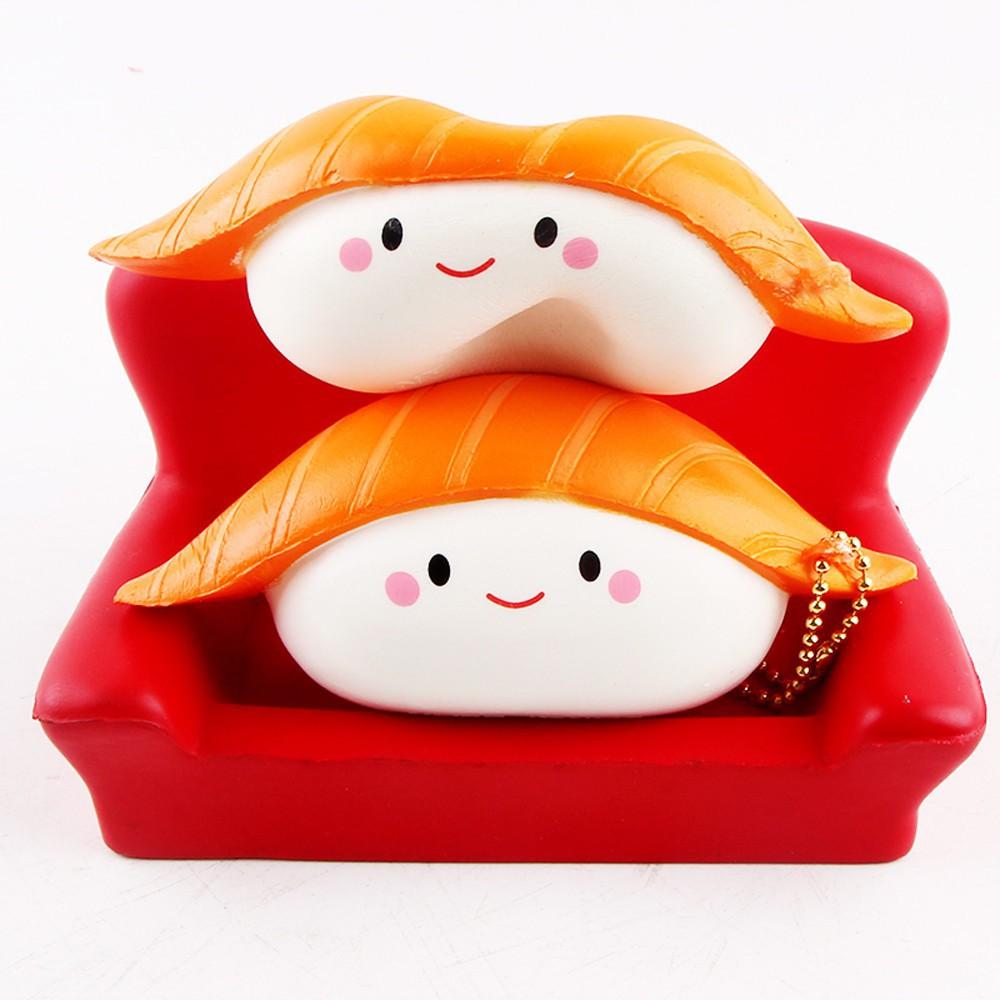 Đồ chơi giảm stress hình cuộn sushi uy tín