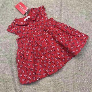 Váy hoa đỏ