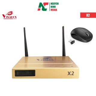 (Tặng Chuột) ĐẦU ANDROID TV BOX VINABOX X2 - Hàng Chính Hãng